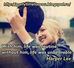 Party time: With him, life was routine