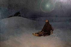 Woman in the Wilderness, 1923. Alphonse Mucha