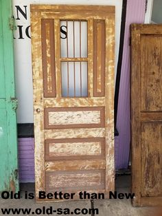 Installing interior barn door hardware can transform the look of your room. Read these steps in buying interior barn door hardware. & Vintage Colonial Mexican door for SALE. Great for Barn sliding ...