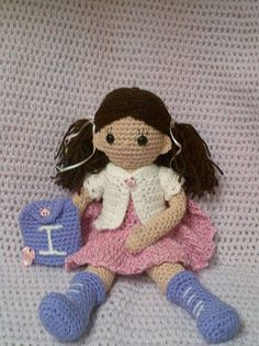 I is for Imogen by amifan2010, via Flickr - love this little doll