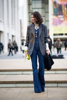 leandra medine / nyfw / not helping with my newfound overalls obsessions