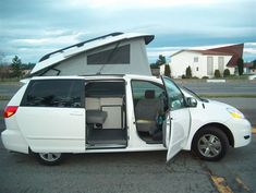 Toyota sienna camper- i want one. GTRV Toyota and Chevy Pop-Top Conversions