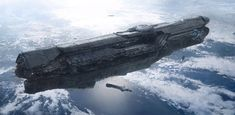 Spaceship Concept Art | ... ship vessels floating concept sci-fi science fiction spaceship art by