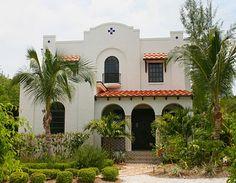 2 story Spanish bungalow