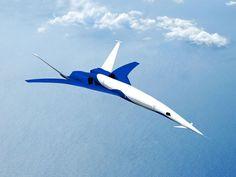 Découvrez l'avion supersonique du futur, tout juste testé par la NASA