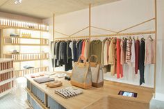 a.p.c. has relocated its shoreditch store. the new premises are three times bigger and totally honour the brand's retail reputation.