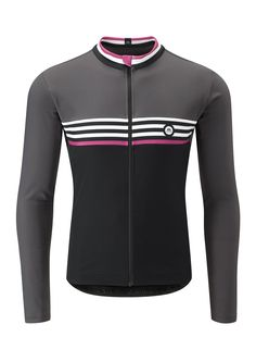 This jersey features advanced fabrics and detailing for comfort during cold weather rides. It provides superior wind resistance, combined with optimum breathability and a soft touch for moderate to ultra-cold temperatures. Cycling Wear, Bike Wear, Cycling Jerseys, Cycling Outfits, Cycling Clothing, Louis Garneau, Team Wear, Thermal Long Sleeve, Cold Weather