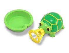 Melissa & Doug Tootle Turtle Squeeze Critter by Melissa & Doug. $6.97. Bubble Buddy. Mellisa and Doug. A lilypad bubble tray holds just the right amount of bubble solution for a dip by Tootle Turtle Bubble Buddy. Gently squeeze the turtle`s shell to produce a sky full of iridescent bubbles. Burst out of your shell and chase all the bubbles you can make with 8 ounces of super bubble solution.
