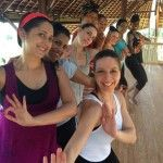 The Bare Feet™ Tour travelers after a traditional Balinese Dance class.