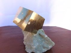 One of our favorite pieces from La Rioja, Spain! Amazing Pyrite Cubes, the largest measures 61 x 52 x 51 mm & its twin 35 x 35 mm. Its very rare to get a cube this large & in such good shape!