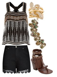 """Transform"" by ellary-branden on Polyvore featuring River Island, City Chic, Ivy Kirzhner and Sweet Romance"
