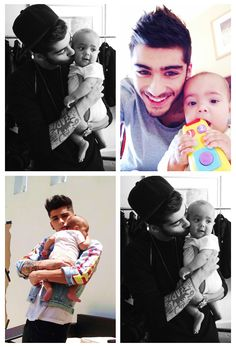 In case you haven't had enough Zayn and Brooklyn... A COLLAGE!