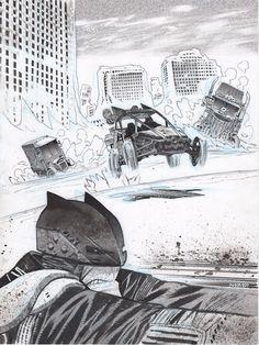 Mad Max Batman by James Harren
