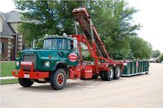Old Mack Trucks, Mack Attack, Dumpster Rental, Garbage Truck, Random, Warriors, American, Big, Casual