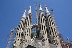 La Sagrada Familias, Barcelona Barcelona Airport Private Arrival Transfer Excursions in Barcelona Vacations in Barcelona Sightseeing tours, airport transfers, taxi, interpreter and your personal guide in Bar Barcelona Tourist Attractions, Barcelona Vacation, Paris Airport, Med Cruises, Stuff To Do, Things To Do, Paris Hotels, Disneyland Paris, Barcelona Spain