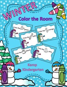 "I added ""Winter Color the Room FREEBIE"" to an #inlinkz linkup!     https://www.teacherspayteachers.com/Product/Winter-Color-the-Room-FREEBIE-3552366"