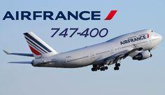 Farewell Air France Boeing 747