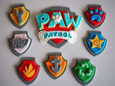 Large-Paw-Patrol-BIRTHDAY-CAKE-LOGO-Edible-Cupcake-Toppers-KIDS-SUGAR-DECOR