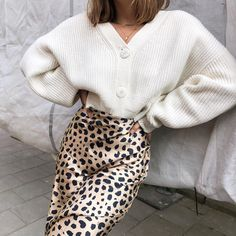 Cute Dresses, Tops, Shoes, Jewelry & Clothing for Women : retro leopard skirt outfit pencil midi skirt classy satin long dress leopard prints long skirt for work cheetah printed brown skirt fall 2019 trends Jupe Midi Leopard, Leopard Skirt Outfit, Fashion Moda, Look Fashion, Fashion Outfits, Fashion Trends, Fashion Women, Girl Fashion, Cheap Fashion