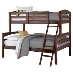 Dorel Living Maddox Twin Over Full Bunk Beds