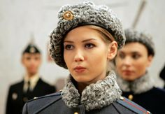 New Sexy Russian Female Military Uniform by Valentin Yudashkin Clothing Designer Gives Russian Women a Sexy Appeal While in their Army Uniform Mädchen In Uniform, Nana Mouskouri, In Soviet Russia, Military Girl, Military Police, Military Uniforms, Military Style, Military Fashion, Female Fighter