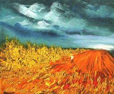 Maurice de Vlaminck - The Harvest 1945