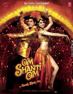 Shahrukh & Deepika in Om Shanti Om- Full of cameos by some of the biggest stars in Bollywood.