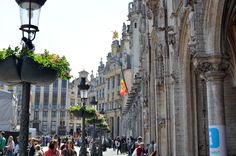 Place de Bruxelles, Belgique. #citytrip Place, Street View, Europe