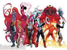 Avengers Now   Conheça os novos Vingadores dos quadrinhos > Quadrinhos   Omelete