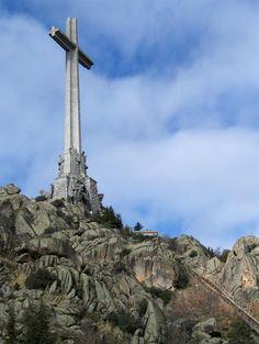 Valley of the Fallen in Madrid, #Spain