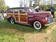 1940 Buick station wagon
