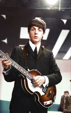 Paul of The Beatles.