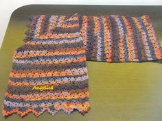 Angelica lucreaza: Fular crosetat Crochet Clothes