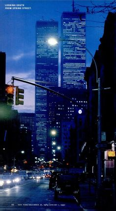 Here it is, the MEGA WTC picture thread where all pictures of the WTC pre are posted and we remember the Twin Towers. World Trade Towers, World Trade Center Nyc, Trade Centre, North Tower, Beautiful Buildings, Modern Buildings, Modern Architecture, City Lights, Tours