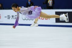Mao Asada's victory at the Cup of China on Saturday night was the 15th Grand Prix win of her illustrious career. | AFP-JIJI (4000×2670) http://www.japantimes.co.jp/sports/2015/11/10/figure-skating/mao-begins-long-road-pyeongchang-victory/#.VkMYetLhDMx