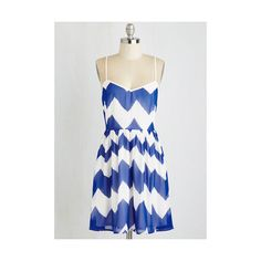 Americana Mid-length Sleeveless A-line Go Zig or Go Home Dress (215 ARS) ❤ liked on Polyvore featuring dresses, apparel, blue, fashion dress, blue sleeveless dress, blue a line dress, sleeveless dress, sun dresses and sleeveless a line dress