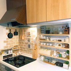 27 Trendy Ideas For Kitchen Ikea Ideas Diy Home Decor Kitchen, Diy Kitchen, Kitchen Interior, Home Kitchens, Kitchen Storage, Home Room Design, House Design, Japanese Apartment, Cocina Diy