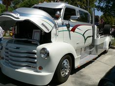 Custom Early 1948 Chevy Car Hauler