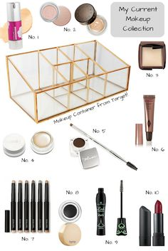 In My Minimalist Makeup Collection - cruelty free, green beauty, minimalism