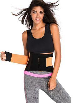 62161683eb5 Orange Hollow Design Waist Trainer Belt on sale only US 30.58 now