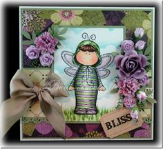 Isn't this sweet?  Another great card by Bev Rochester.