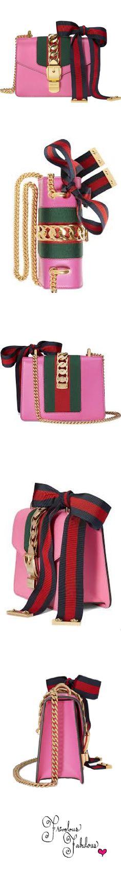 Frivolous Fabulous - Gucci Hot Pink Sylvie Hand Bag Spring Summer 2016