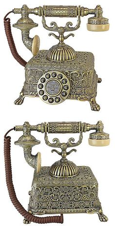 Home Telephones: Design Toscano 1933 Reproduction Grand Emperor Telephone -> BUY IT NOW ONLY: $161.95 on eBay!