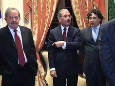 Presidente Medina recibe en el Palacio Nacional al expresidente Lula Da ...