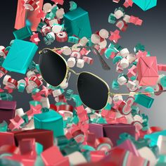 Crystal lenses and golden frames. Hit the jackpot this holiday. Explore our #WorldwideWonderland