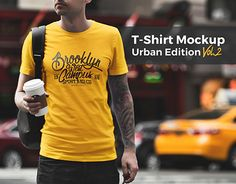 """Check out new work on my @Behance portfolio: """"T-Shirt Mockup Urban Edition Vol. 2"""" http://be.net/gallery/54666943/T-Shirt-Mockup-Urban-Edition-Vol-2"""