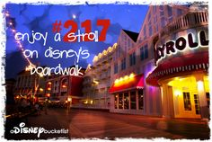 A Disney Bucket List- Stay @ The Boardwalk--DONE! :)