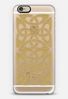 Celtic 3 Gold - $10 off your first order @Casetify using code: ZN4AQG  #casetify #case #iphonecase #celtic #celticart #celticknot #gold #glitter #sparkle #clearcase #transparent #pattern #phonecover #discount #offer #discountcode