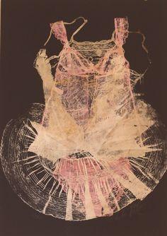 """Saatchi Online Artist: adeline meilliez; Mixed Media, 2012, Painting """"moonlight"""" #art"""