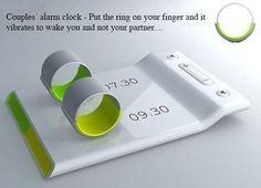 Alarm Clock for couples